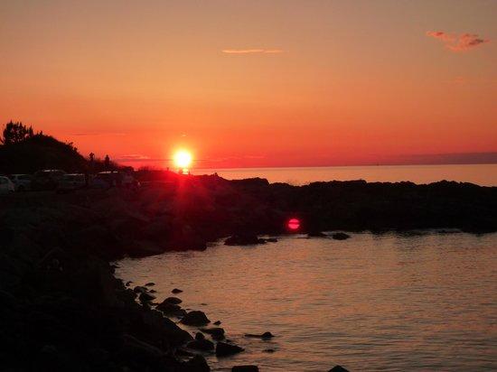 solnedgang gudhjem