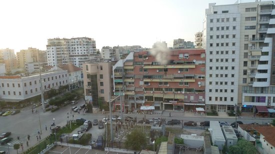 Tirana International Hotel & Conference Centre: Blick nach hinten