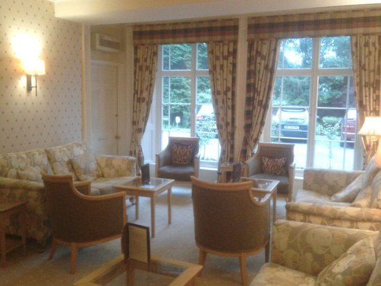 Rothay Manor Hotel: the lounge