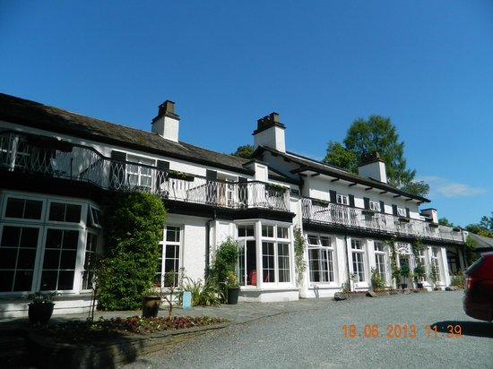 Rothay Manor Hotel: The hotel from outside
