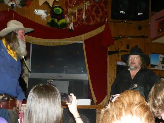 red garter saloon show