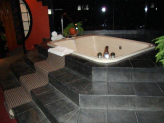 Best Western Fireside Inn: Jacuzzi tub