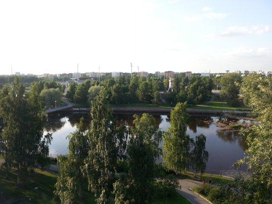 Radisson Blu Hotel, Oulu: Utsikt mot elven