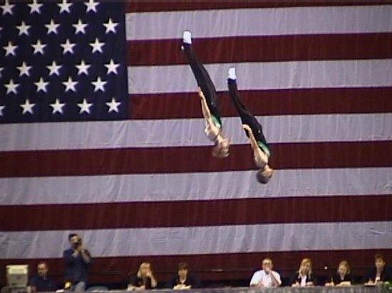 Trampoline World Gymnastics : Syncro Team Competition