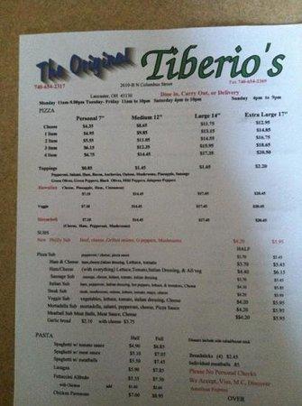 Tiberio's Pizza