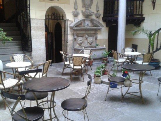 Hotel Casa del Capitel Nazari: Terraza Restaurante Palacio Mariana Pineda
