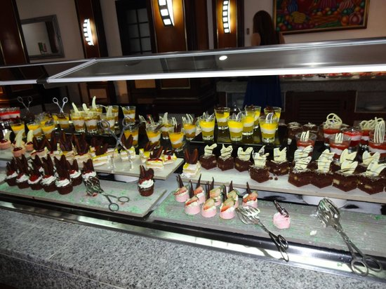 Hotel Riu Palace Macao : excellent food