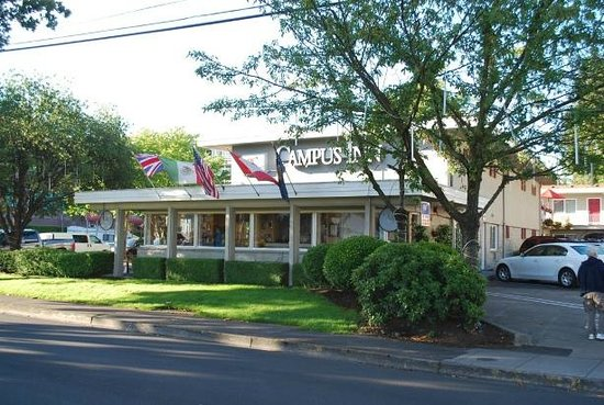 Campus Inn & Suites, Eugene Downtown: Great location