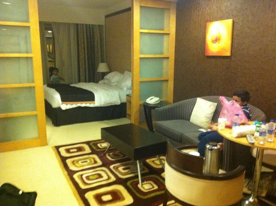 Savoy Suites Hotel Apartments: My room in the hotel