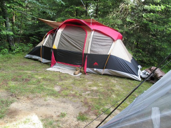 Beech Hill Campground and Cabins: our camping site