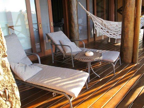 Solar Singuitta: Varanda - Suite Toca do Tatu