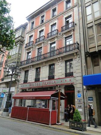 Hotel Fruela: Fachada