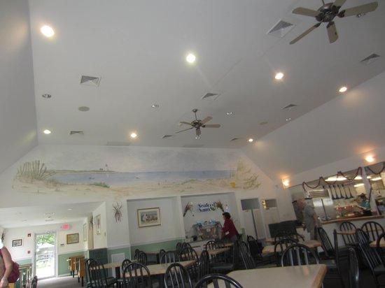Seafood Sam's: Eatting area