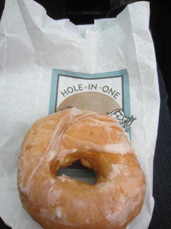 Hole In One : Glazed donut