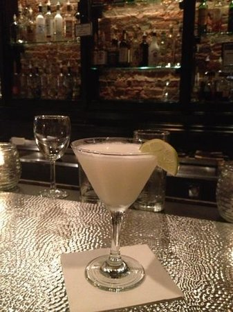 Bistro 71: coconut martini. delicious drink and awesome atmosphere!