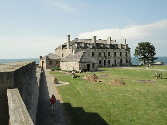 Old Fort Niagara: Housed several aspects of the fort