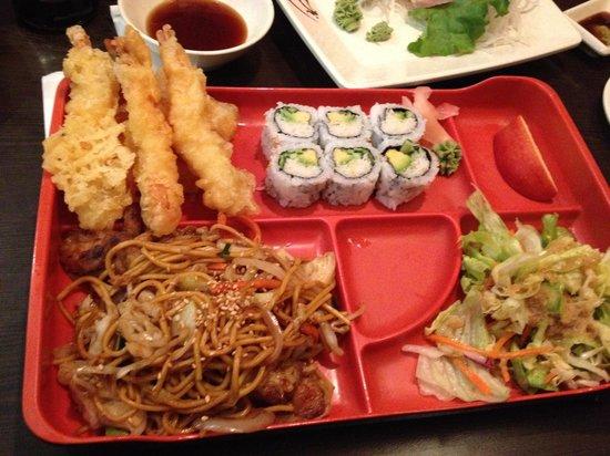 Junsei River Japanese : Bento Box  3