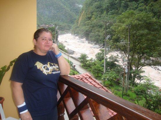Hostal El Santuario: Tomada desde el Balcón de la habitación con vista al Río