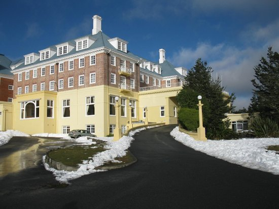 Chateau Tongariro Hotel: Winter at the Chateau