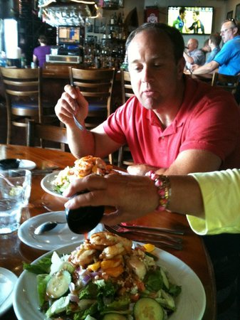 Backwaters on Sand Key: Time to eat