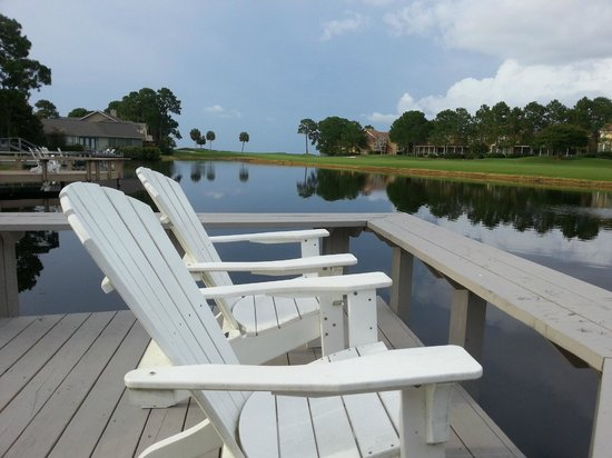 Sandestin Golf and Beach Resort: View from the deck at Castaway Cottage