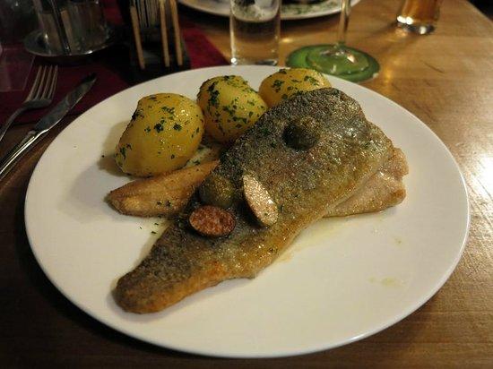 Goldene Ente: Salted Fish & Potatoes