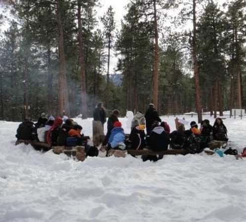 Horseshoe Lodge and Retreat Center: Winter Fire Circle is a great place to meet up
