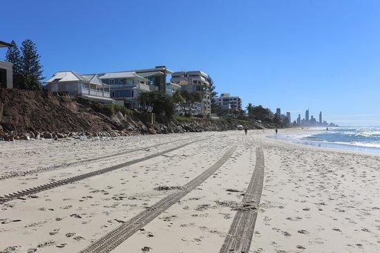 Spindrift On The Beach: The beach