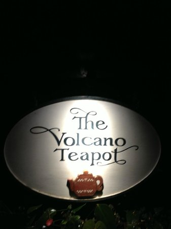 Volcano Teapot Cottage : Entrance