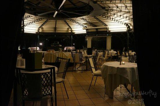 Isa Hotel: Rooftop restaurant