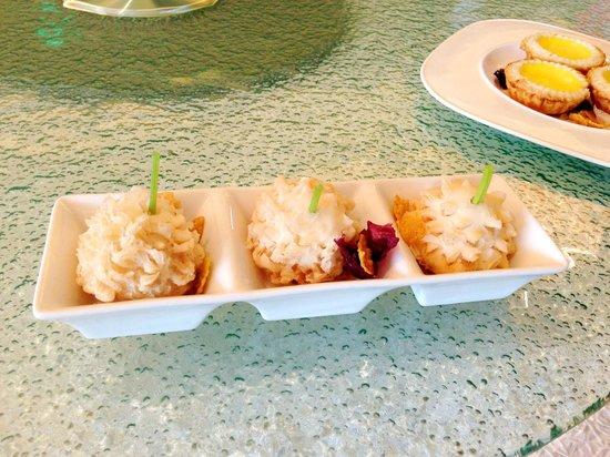 Summer Palace: Durian tart