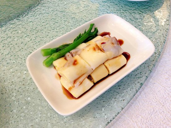 Summer Palace: Steamed rice rolls with Shrimp