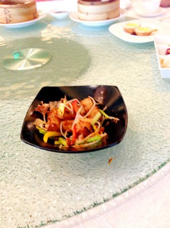 Summer Palace: Stir fried Radish Cake