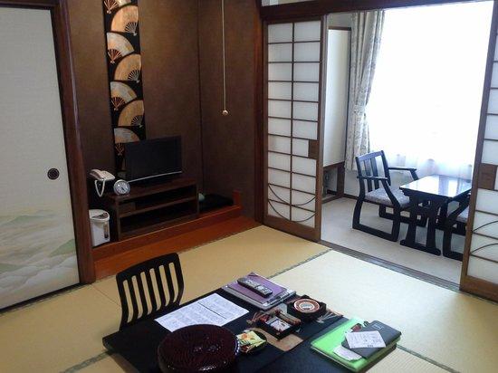 Ryokan  Yoshinoya: The room