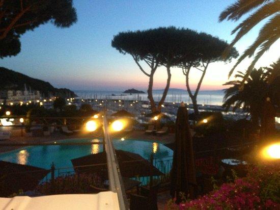 Baglioni Resort Cala del Porto: view from restaurant