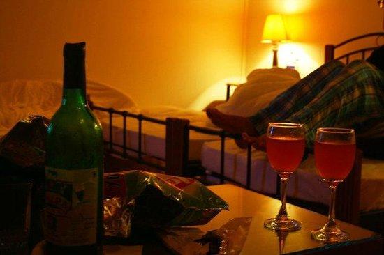 Clouds End Villa: wine.sweet.wine.