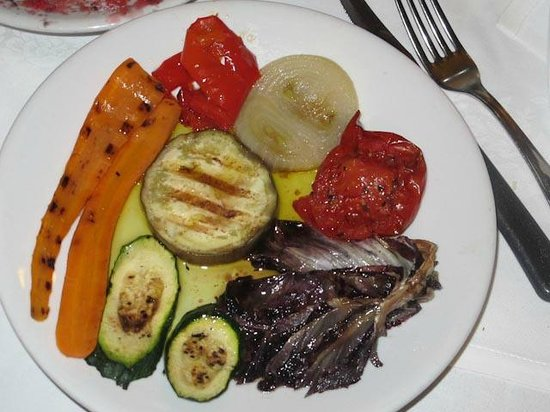 Osteria St. Ana: Fresh Grilled Veggies