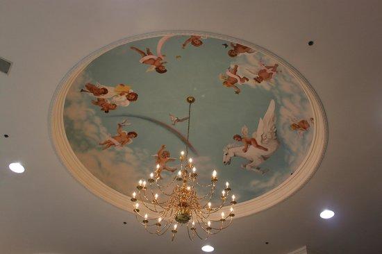 Cumberland Inn and Museum: Ceiling