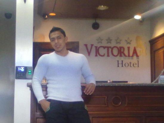 Hotel Plaza Victoria: recepcion