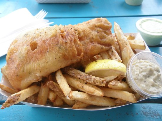 DNA Fish and Chips: What a treat!