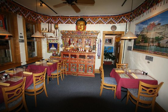 Buddhist Shrine room Picture of Sherpa House Restaurant Cultural