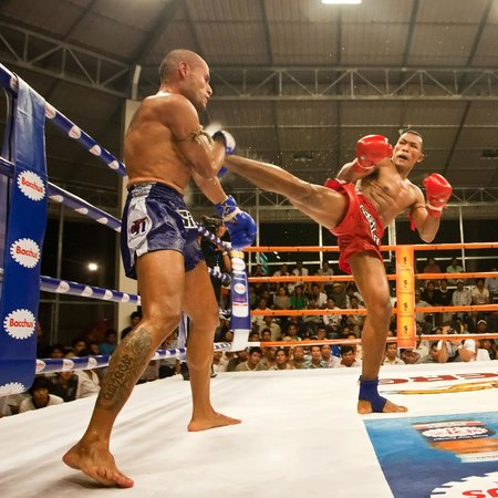 Khmer Kickboxing in Siem Reap