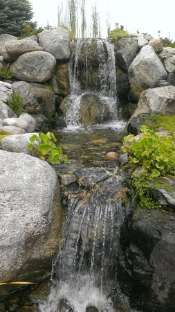 Sorrento's: one of the water features on the grounds