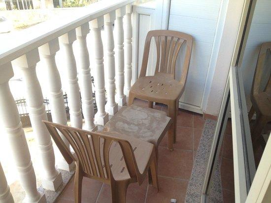 le mobilier de balcon picture of magic dream resort hotel kemer tripadvisor. Black Bedroom Furniture Sets. Home Design Ideas