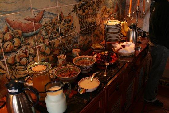 Casa Estrella de la Valenciana: Breakfast 1st Course