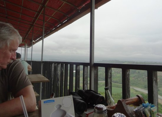 Restaurante Valle Encantado: Table with great view
