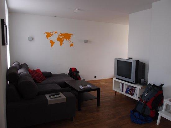Central Guesthouse Reykjavik : living area