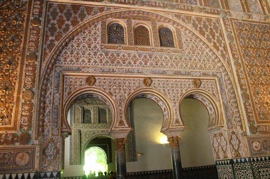 influence of moorish architecture セビリア アルカサルの写真