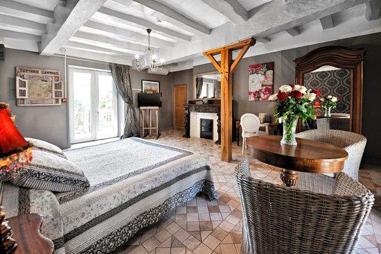 Hotel la Roseraie: chambre 19