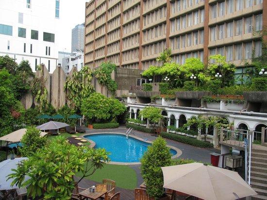 The Tawana Bangkok Pool And Rear Hotel
